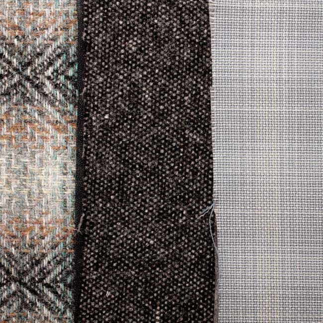 Mixed material fabric