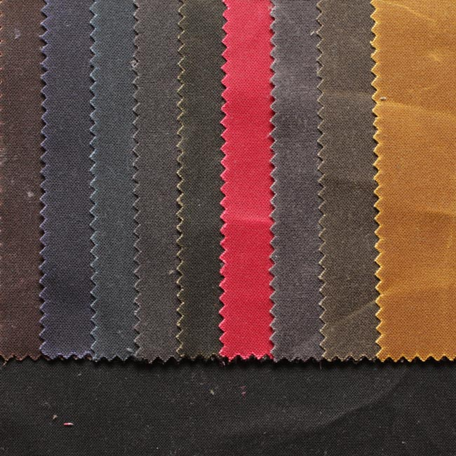 Oilskin fabrics from U.K.