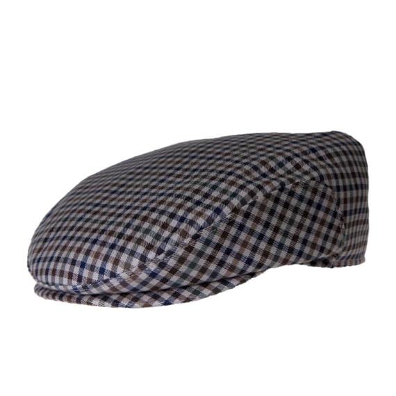 Flatcap fra Wilgart. Håndlavet i en tynd uldkvalitet.